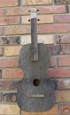 Wooden Creations WC 715 Fiddle Birdhouse wood craft pattern