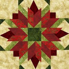 """Bursting Buds 18"""" Seasonal, pattern for sale -- see this block in different colours"""
