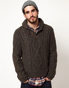 Image 1 of Denim & Supply Ralph Lauren Jumper Cable Knit