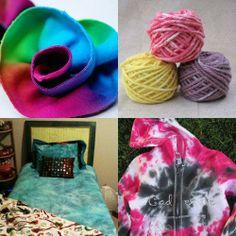 iLoveToCreate Blog: 12 Fresco Tie Dye Proyectos Roundup