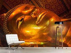 Foto #Tapete Liegender Buddha