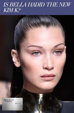 Bella Hadid, model in her own right and sister to it-girl Gigi Hadid, has been on the rise lately. Her stunning good looks and curvaceous form might just have her poised to be the next Kim K. One of our style experts puts together her reasons why - click through to read! Plus find a code for 25% off a purchase 11/3-11/13. #zindigo #zindigodaily #fashion #dress #bellahdid #gigi #model #supermodel #celebrity #kimk #black #makeup
