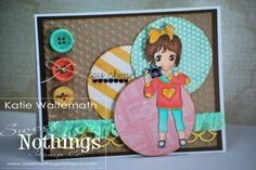 Sweet Nothings Stamp Co.- Picture Perfect Sophie