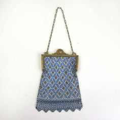 1920's Mandalian Mesh Dance Purse // Art by independencevintage, $180.00