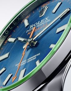 Rolex Introduces Oyster Perpetual Milgauss Z Blue