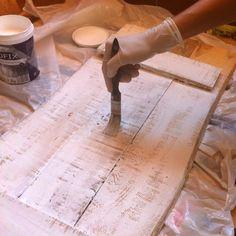 Como hacer un cartel vintage en madera | La curiosidad que no mató al GATO!