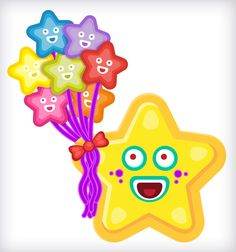 BabaStar! ☼.☼ Moon Illustration, Stars And Moon, Princess Peach, Cool Stuff, Character, June, Meet, Lettering