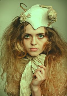 Loren Wood's magical and mystifying head pieces