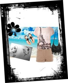 """Beach"" by fennyipt on Polyvore"