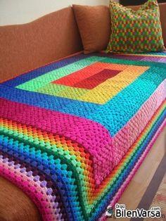 ... örgü battaniye yapılışı,battaniye örgü modelleri,tığ iş...