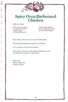 Duck Recipes, Retro Recipes, Old Recipes, Vintage Recipes, Cookbook Recipes, Raw Food Recipes, Meat Recipes, Chicken Recipes, Cooking Recipes