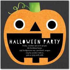 spooktacular halloween pumpkin invitations halloween ideas we