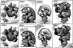 What to remember about Russia's behavior. We've seen it before. KAL's cartoon | The Economist #society #politics