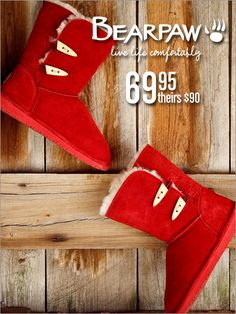 Love how Bright red these are, they really POP and stand out!