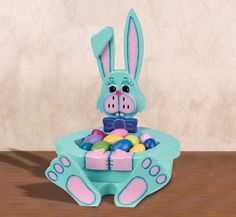 Easter Bunny Bowl Woodcraft Pattern