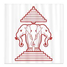 Résultats Google Recherche d'images correspondant à http://i1.cpcache.com/product/683769499/three_headed_elephant_shower_curtain.jpg%3Fcolor%3DWhite%26height%3D460%26width%3D460%26qv%3D90