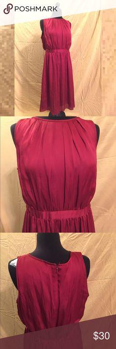 LOFT Red Dress Work a few times, but not often enough. It's a great dress. LOFT Dresses Midi