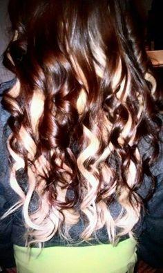 Brown hair with Blonde undertone