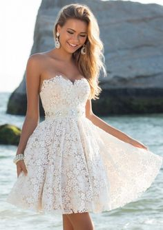 Shop for Blush prom dresses and evening gowns at Simply Dresses. Blush sexy long prom dresses, designer evening gowns, and Blush pageant gowns. Short Graduation Dresses, Dresses Short, Summer Dresses, Mini Dresses, Dresses Dresses, 8th Grade Dance Dresses, Graduation Attire, 8th Grade Formal Dresses, Dresses 2016