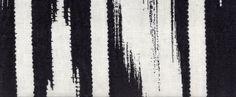 Pienza Safari in Bianco/Nero from C&C Milano #black #stripes #linen #textiles #fabric #interiordesign #designinspiration #thetextilefiles #clothandkindinteriordesign #ccmilano