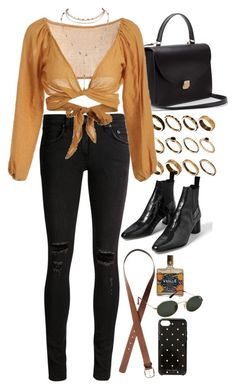 """""""Untitled #10754"""" by nikka-phillips ❤ liked on Polyvore featuring ASOS, rag & bone/JEAN, H&M, Kate Spade and Ray-Ban"""