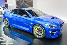 Subaru WRX Concept - love this can't understand why Subaru can't get there act together and release a version like this.