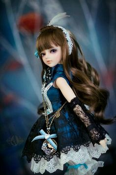 bjd doll (Thea) from Angell-studio もっと見る Beautiful Barbie Dolls, Pretty Dolls, Anime Dolls, Blythe Dolls, Ball Jointed Dolls, Lolita Fashion, Fashion Dolls, Cute Baby Dolls, Gothic Dolls