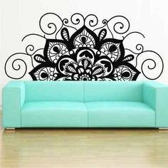 Vinilos Esmerilados Para Mamparas Y Vidrios - $ 660,00 en Mercado Libre Mandala, Wall, House, Home Decor, Kids Chalkboard, Colour Chart, Diy Furniture, Home, Haus