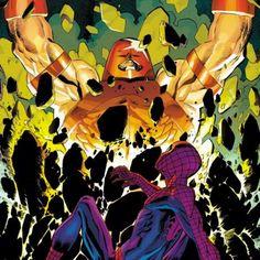Juggernaut vs Spider-Man