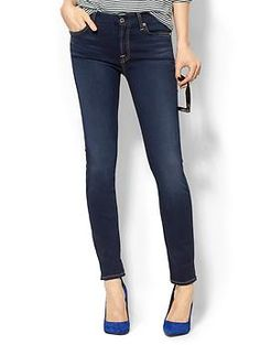 7 For All Mankind Mid Rise Skinny Jean | Piperlime