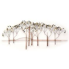 @Overstock - This wall sculpture is made from the finest materials available by skilled artisans. It is designed to fit the most unique and exquisite design application and arrives ready to hang.http://www.overstock.com/Home-Garden/Iron-Werks-The-Elms-Wall-Sculpture/7585765/product.html?CID=214117 $199.99