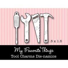 New My Favourite Things Tool Charms Dies Set MFT Die-namics