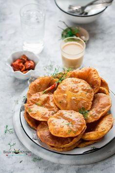 Rajgira Ki Puri (Amaranth Puri or Vrat Puri) - Binjal's VEG Kitchen