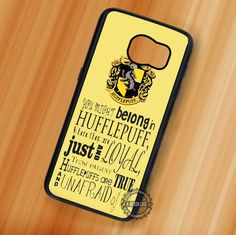You Might Belong in Hufflepuff Harry Potter - Samsung Galaxy S7 S6 S5 Note 7 Cases & Covers
