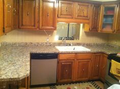 rustoleum countertop transformation kit for the kitchen, a real