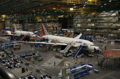 Boeing Planes under construction | 10 Largest Factories in the World