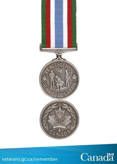Peacekeeping Canadian Horse, Canadian Army, Canadian History, Army Medals, United Nations Peacekeeping, Royal Canadian Navy, Service Medals, Military History, Armed Forces