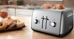 Win a Kitchen Aid four-slice toaster {US} (04/25/2017) via... sweepstakes IFTTT reddit giveaways freebies contests