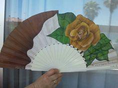 Mis abanicos pintados a mano
