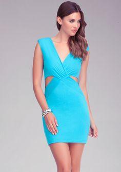 bebe | Reversible Cutout Dress - Day #MillionDollarShoppersJennifer