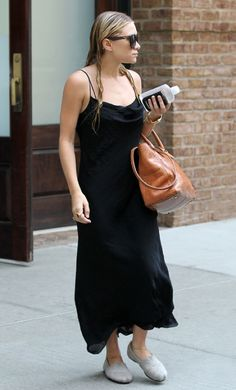 ASHLEY: TANK DRESS + TOMS SHOES