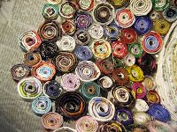 Rolled Paper Bowl - Tutorial - PAPER CRAFTS, SCRAPBOOKING & ATCs (ARTIST TRADING CARDS)