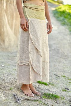 Hey, I found this really awesome Etsy listing at https://www.etsy.com/listing/253421073/wrap-skirt-with-belt-natural-color