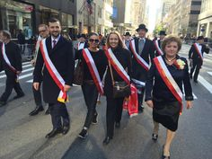 Marching 5th Avenue  #PulaskiParade  #NYC @FrackowiakFilip
