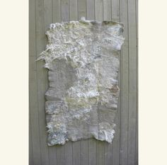 GRAY WOOL FELTED RUG - SMALL by Ashley Helvey __ http://www.ashesandmilk.com/ashley-helvey-gray-wool-felted-rug-small/