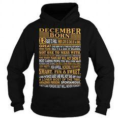 Cool December Born T shirts