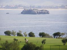 Campo de Golf de Mataleñas.  #Cantabria #Spain