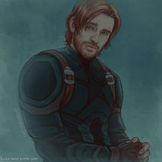 i have a problem…and it's Beardy!Steve. #what is this new hell i'm in?!! previous sketches HERE and HERE. :D *** please do not repost in whole or in part ***