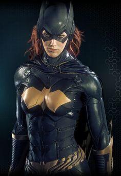 Batgirl - Arkham Knight 4 by solarnova1101