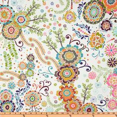 For ironing board cover Valori Wells Karavan Kashmir Bone from Origami, Free Spirit Fabrics, Michael Miller Fabric, Drapery Fabric, Pillow Fabric, Quilting Fabric, Curtains, Pillows, Passementerie